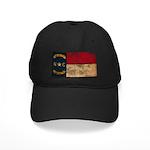 North Carolina Flag Black Cap
