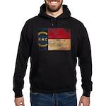 North Carolina Flag Hoodie (dark)