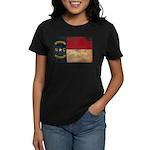 North Carolina Flag Women's Dark T-Shirt