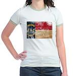 North Carolina Flag Jr. Ringer T-Shirt