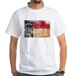 North Carolina Flag White T-Shirt