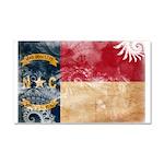 North Carolina Flag Car Magnet 20 x 12