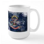 North Dakota Flag Large Mug