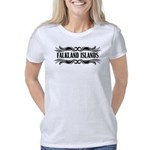 North Dakota Flag Organic Toddler T-Shirt (dark)