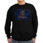 North Dakota Flag Sweatshirt (dark)