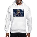North Dakota Flag Hooded Sweatshirt