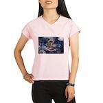 North Dakota Flag Performance Dry T-Shirt