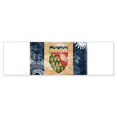 Northwest Territories Flag Sticker (Bumper 50 pk)
