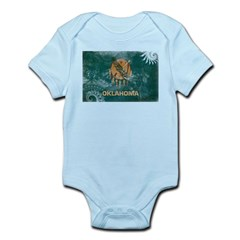 Oklahoma Flag Infant Bodysuit