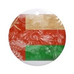 Oman Flag Ornament (Round)
