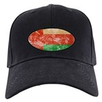 Oman Flag Black Cap