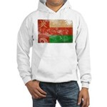 Oman Flag Hooded Sweatshirt