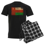 Oman Flag Men's Dark Pajamas