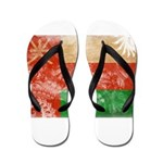Oman Flag Flip Flops