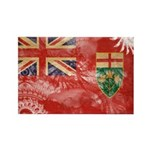Ontario Flag Rectangle Magnet (100 pack)