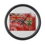 Ontario Flag Large Wall Clock