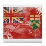 Ontario Flag Tile Coaster
