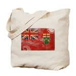 Ontario Flag Tote Bag
