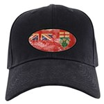 Ontario Flag Black Cap