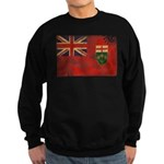 Ontario Flag Sweatshirt (dark)