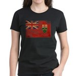 Ontario Flag Women's Dark T-Shirt