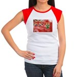 Ontario Flag Women's Cap Sleeve T-Shirt