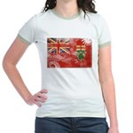 Ontario Flag Jr. Ringer T-Shirt