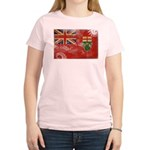 Ontario Flag Women's Light T-Shirt