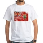 Ontario Flag White T-Shirt