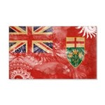 Ontario Flag 22x14 Wall Peel
