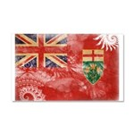 Ontario Flag Car Magnet 20 x 12
