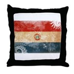 Paraguay Flag Throw Pillow