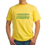 I'd Rather Be Watching Friends Yellow T-Shirt