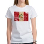 Peru Flag Women's T-Shirt