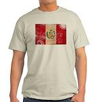 Peru Flag Light T-Shirt