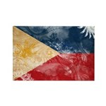 Philippines Flag Rectangle Magnet (10 pack)