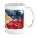 Philippines Flag Large Mug