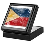 Philippines Flag Keepsake Box