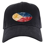 Philippines Flag Black Cap