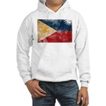 Philippines Flag Hooded Sweatshirt