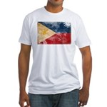 Philippines Flag Fitted T-Shirt