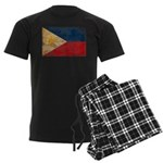Philippines Flag Men's Dark Pajamas