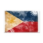 Philippines Flag Car Magnet 20 x 12