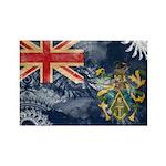 Pitcairn Islands Flag Rectangle Magnet (10 pack)