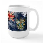Pitcairn Islands Flag Large Mug