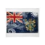 Pitcairn Islands Flag Throw Blanket