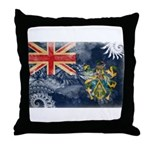 Pitcairn Islands Flag Throw Pillow