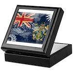 Pitcairn Islands Flag Keepsake Box