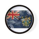 Pitcairn Islands Flag Wall Clock