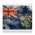 Pitcairn Islands Flag Tile Coaster